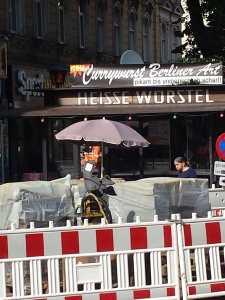 Currywurst nach Berliner Art, verschiedene Schärfegrade